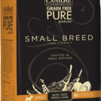 CANIDAE Grain Free PURE Petite Small Breed Adult Dog Dry Formula with Fresh Lamb 6/3 lbs
