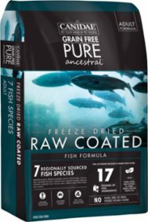 Canidae Pure Ancestral Raw Coated Fish Formula Dog Dry 6/4#