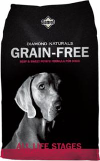 Diamond Naturals Grain Free Beef & Sweet Potato Dog 6/5#