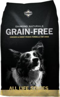 Diamond Naturals Grain Free Chicken & Sweet Potato Dog 6/5#