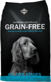 Diamond Naturals Grain Free Whitefish & Sweet Potato Dog 6/5#