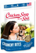 Chicken Soup for the Soul Crunchy Bites Chicken Biscuit Dog Treats  8/12Z