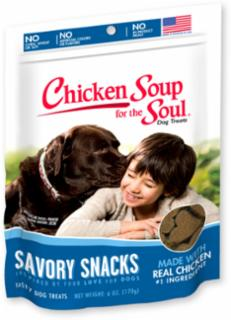 Chicken Soup for the Soul Savory Snacks Chicken Dog Treats  6/6Z