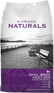 Diamond Naturals Small Breed Dog Chicken & Rice 6/6 Lb.