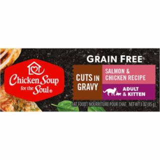 Chicken Soup Salmon & Chicken Cuts in Gravy 24/3oz can *REPL 418239