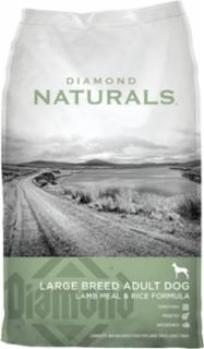 Diamond Naturals Large Breed Adult Dog Lamb & Rice 40 Lb.