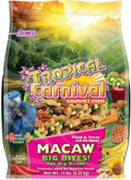 F.M. Brown's Tropical Carnival Macaw Big Bites 14 lb.