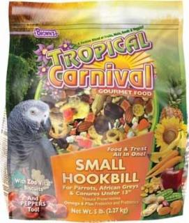 F.M. Brown's Tropical Carnival Gourmet Small Hookbill 18lb Pouch