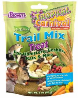 F.M. Brown's Tropical Carnival Trail Mix Hamster Treat 3oz