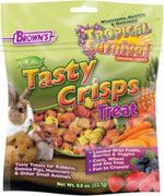 FM Brown Tropical Carnival Natural Baked Crisps for Small Animals 0.8z