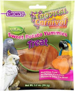 F.M. Brown's Tropical Carnival Natural Sweet Potato Yummies Small Animal Treat 3.5oz
