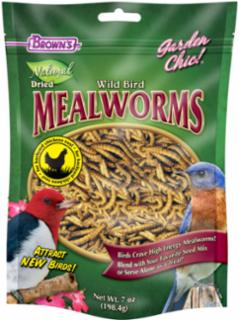 F.M. Brown's Garden Chic! Wild Bird Mealworms 7Z *REPL 423149