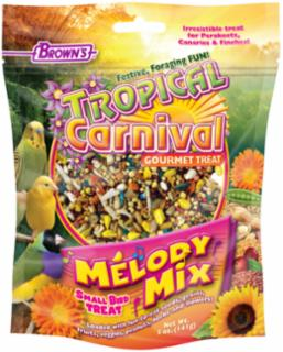 F.M. Brown's Tropical Carnival Melody Mix Small Bird Treat 5Z