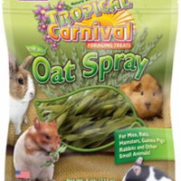 F.M. Brown's Tropical Carnival Natural Oat Spray For Small Animals 8Z