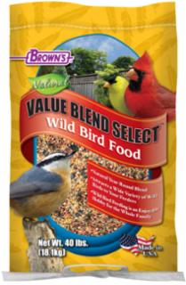 F.M. Brown's Value Blend Select Wild Bird Food, 40 Lb