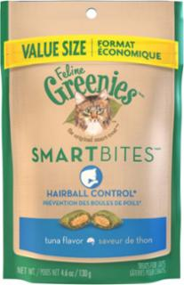GREENIES Smartbites Hairball Control Tuna Cat 4.6oz