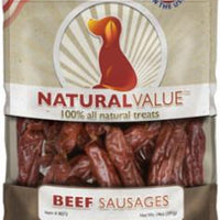 Loving Pets Natural Value Beef Sausage 14z