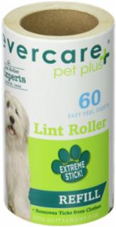 Evercare Pet+ Extreme Stick Plus 60 Layer Lint Refill