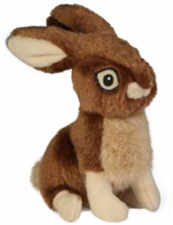 GoDog Wildlife Rabbit W/Chew Guard Large