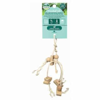 Oxbow Deluxe Natural Dangly Small Animal Toy