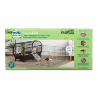 Oxbow Large Habitat with Play Yard for Small Animals