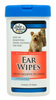 Four Paws Ear Wipes Dog/Cat 30ct