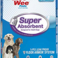 "Four Paws Wee Wee Pads Super Absorbent 10ct 24""x24""  *Replaces 456483"