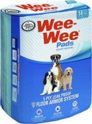 "Four Paws Wee Wee Pads 14/pk  22"" x 23"""