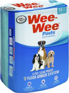 Four Paws Wee Wee Pads 14/pk  22