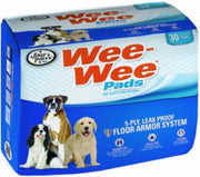 "Four Paws Wee Wee Pads 30/pk  22"" x 23"""