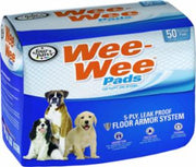 "Four Paws Wee Wee Pads 50/pk  22"" x 23"""