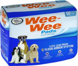 Four Paws Wee Wee Pads 50/pk  22