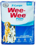 "Four Paws Wee Wee Pads Xlarge 14/pk 28"" x 34"""