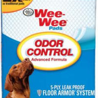 Four Paws Wee Wee Odor Control Pad 10ct 22x23