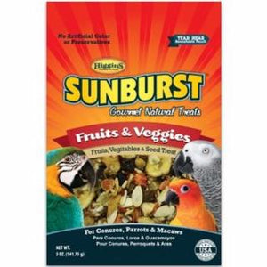 Higgins Sunburst Treats Fruits & Veggies Large 6/5oz