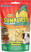 Higgins Sunburst Freeze Dried Fruit Pineapple Banana For Small Animals .5z C=8