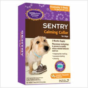 Sentry Calming Dog Collar 3Pk