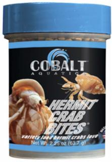 Cobalt Hermit Crab Mini Pellets Freeze Dried 1.2z