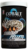 Cobalt Shrimp Pellet Fish Food 4.5oz
