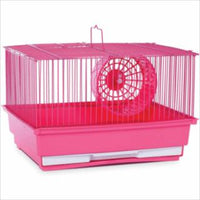 Prevue 1 Story Pastel Bar Hamster Cage (4pc)