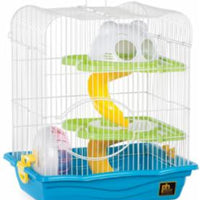"Prevue Hamster Haven Small Cage 4pk 14""L10 1/2""W16""H"