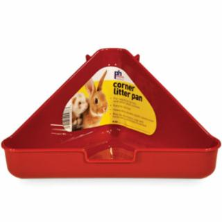 Prevue Rabbit/Ferret Corner Litter Pan