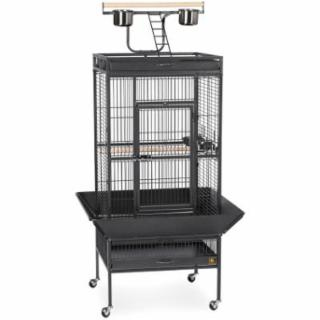 Prevue 3152Black Select Wire Cage 24X20X60 X