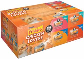 Friskies Chicken Lovers Variety Pack 5.5oz 32CT *REPL 050473
