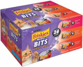 Friskies Meaty Bits Variety Pack 5.5oz 24CT *REPL 050476
