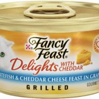 Fancy Feast Delights w/Fish/Cheese 24/3oz