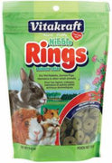 Vitakraft Small Animal Nibble Rings 11oz