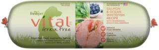Freshpet Vital Grain Free Salmon With Vegetables 2 lb.