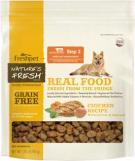 Freshpet Nature's Fresh Grain-Free Chicken Recipe For Dogs 1.75#
