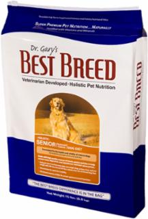 Best Breed Senior Dog Diet 30 lb.